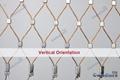柔性装饰不锈钢丝绳网   6