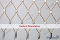 柔性裝飾不鏽鋼絲繩網