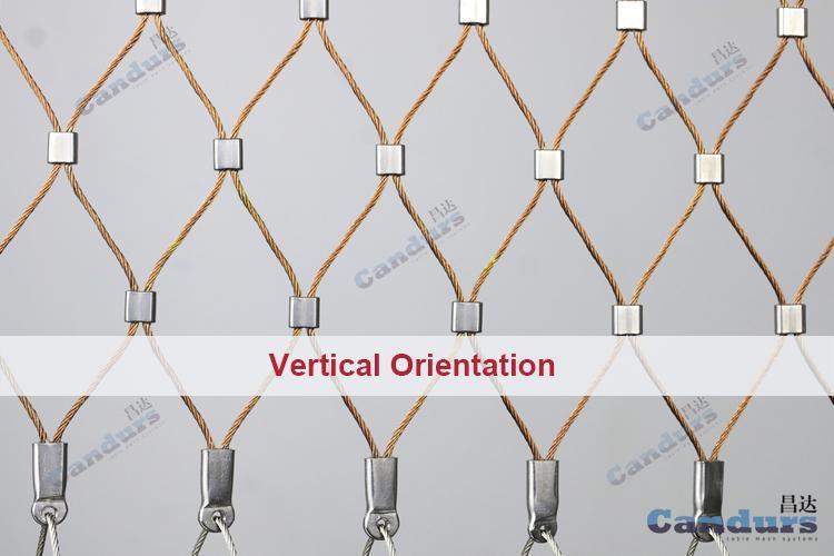 不锈钢套环绳网 2