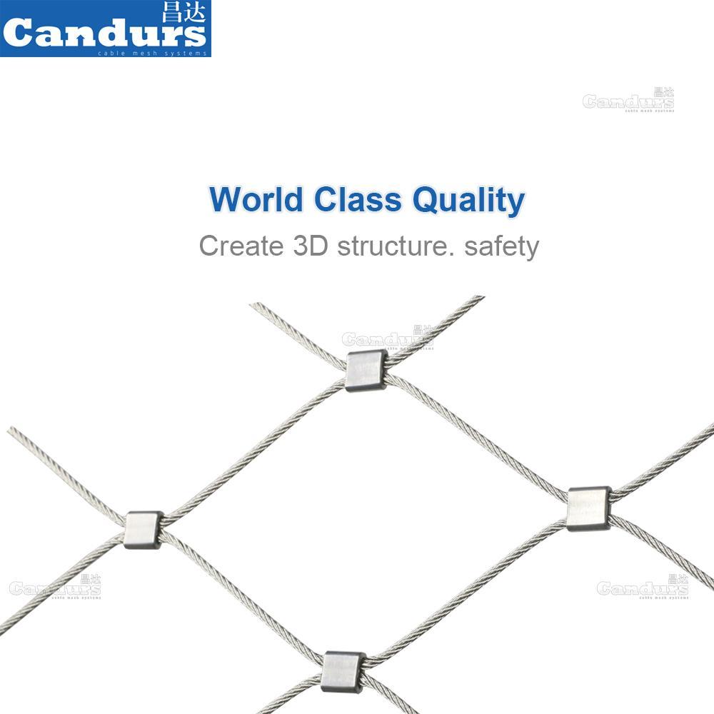 不鏽鋼裝飾防護網 4