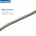 3.0mm 50 x 90 mm Flexible Stainless Steel Rope Mesh