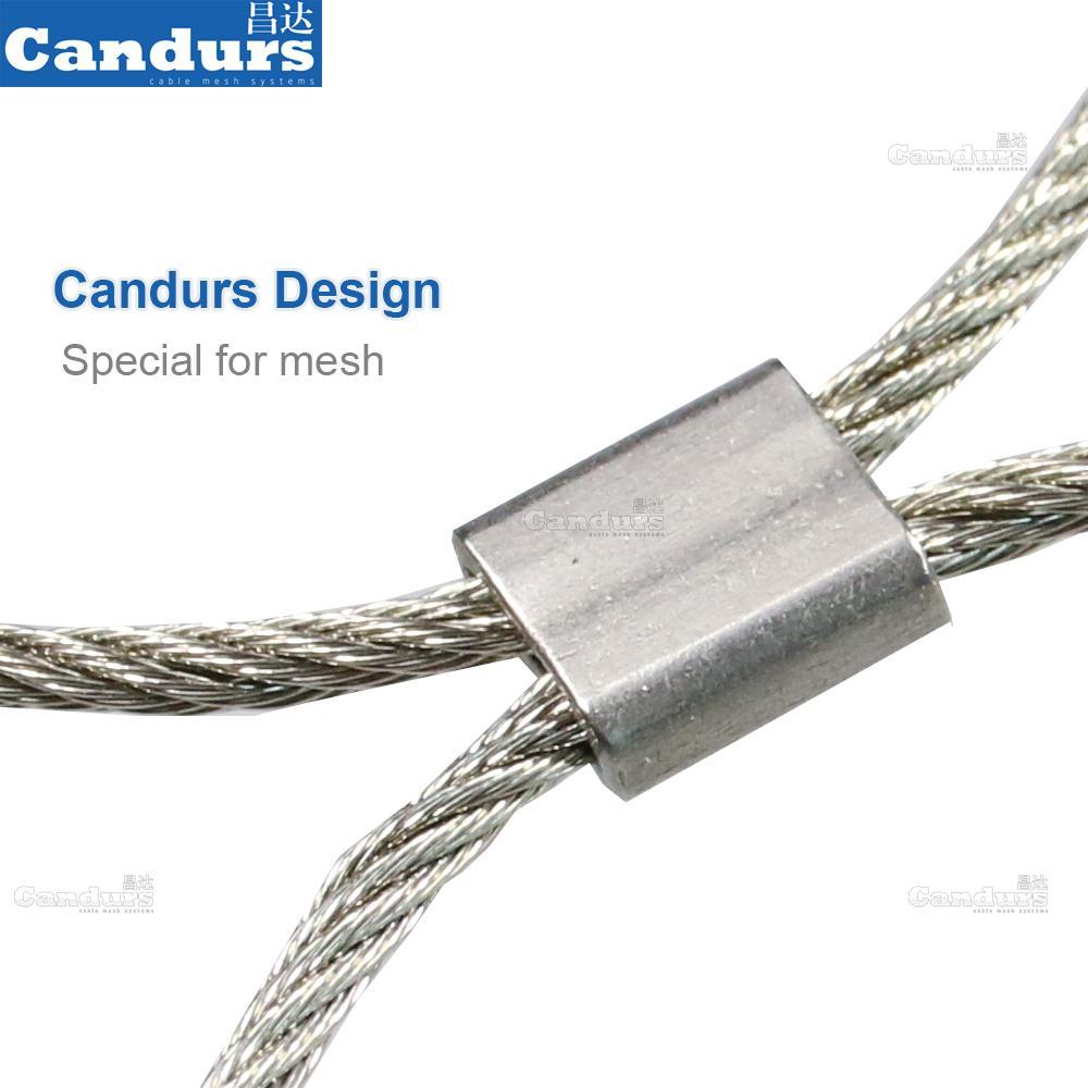 不鏽鋼裝飾防護網 2
