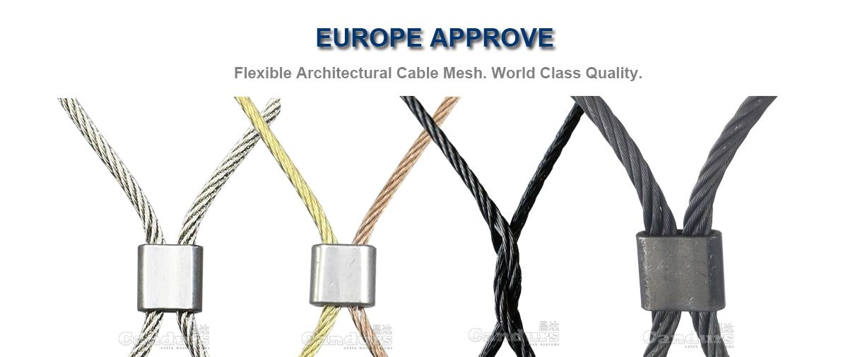 Flexible Cable Mesh.Read More . . .