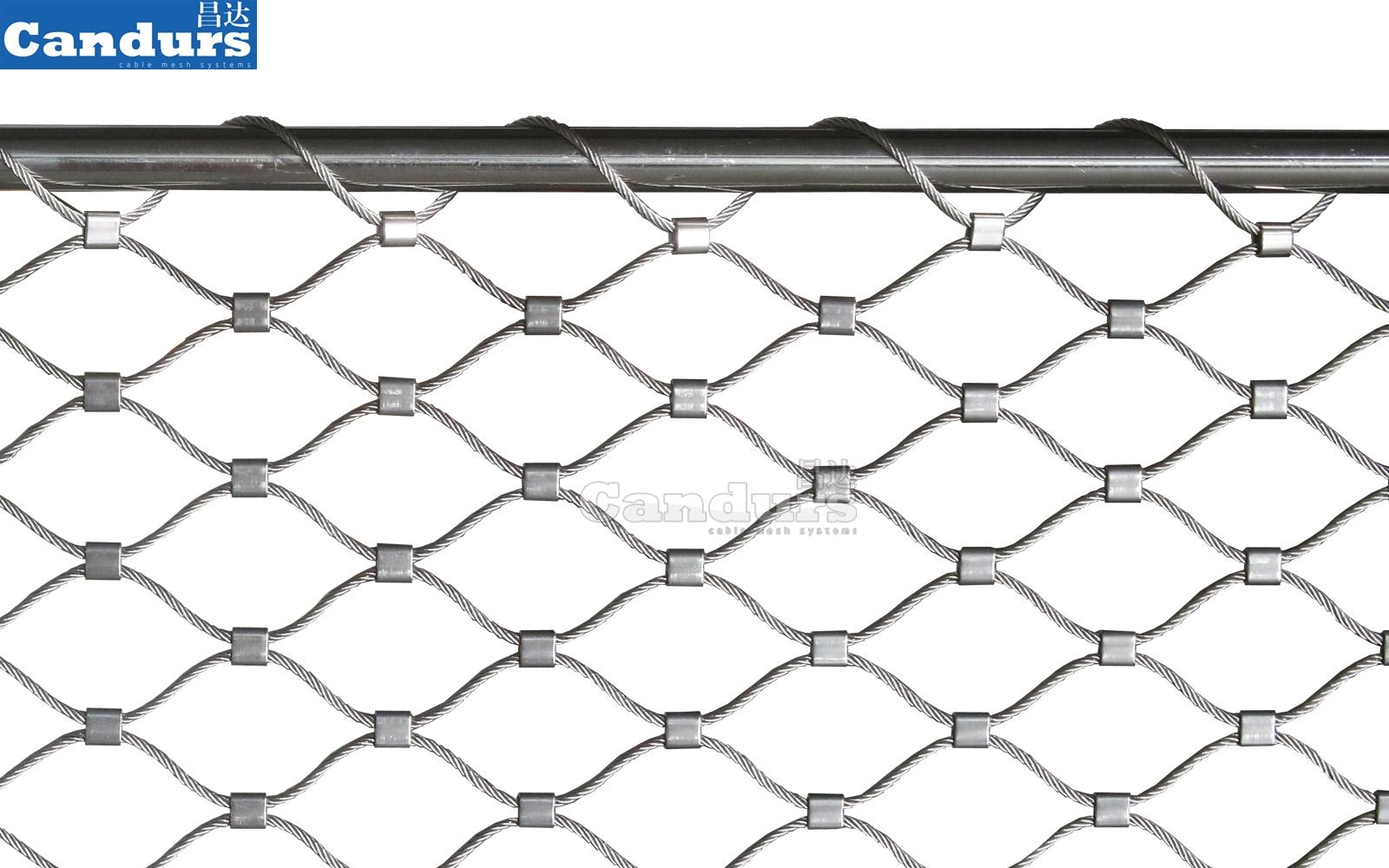 Flexible Rope Mesh For Railing