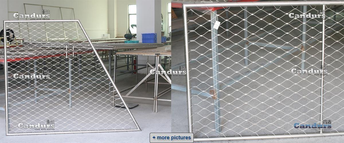 陽台欄杆用不鏽鋼絲繩網