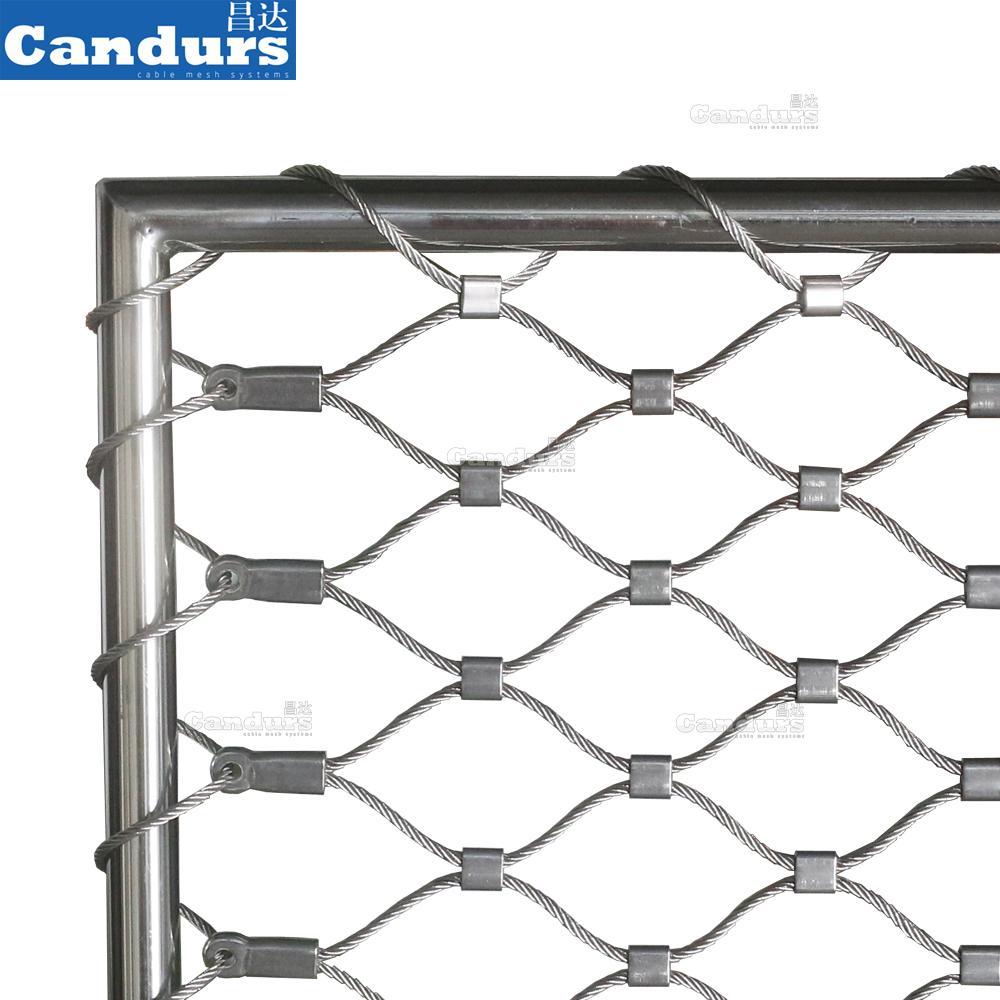 柔性不鏽鋼動物安全網