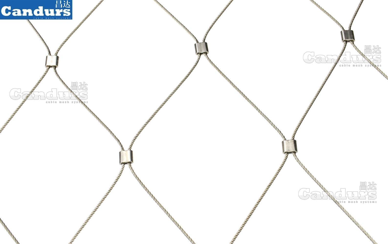 綠化攀藤柔性不鏽鋼繩網