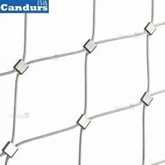 60mm栏杆不锈钢丝绳网
