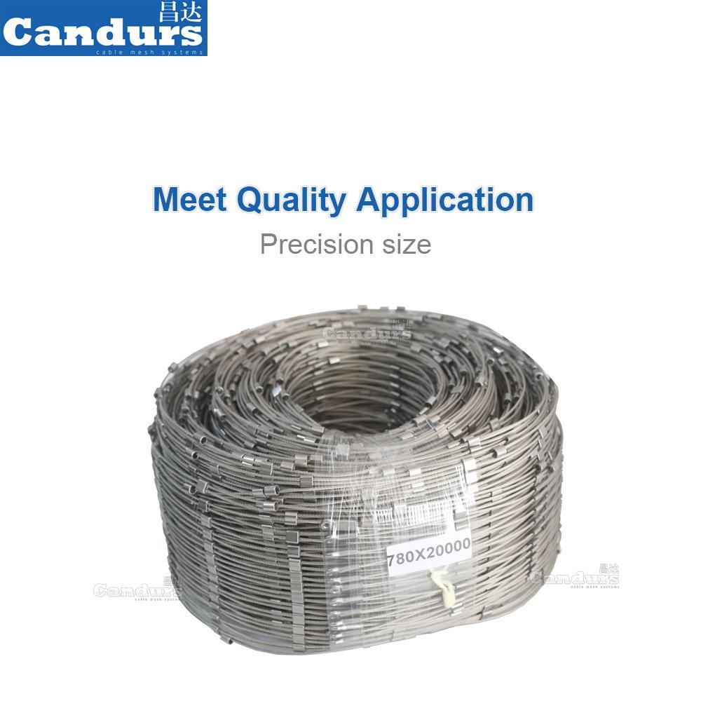 60mm栏杆不锈钢丝绳网 4