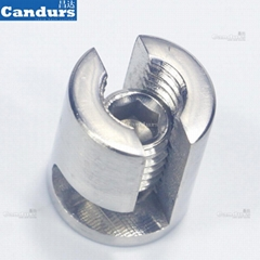 Adjustable 2mm 3mm 4 mm 5mm 6mm Cross Cable Clamp For Trellis