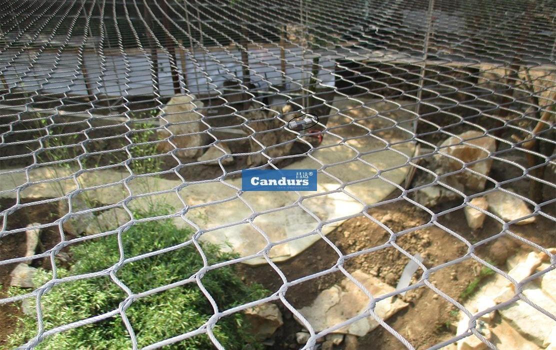 Rope Mesh For Animal Enclosure