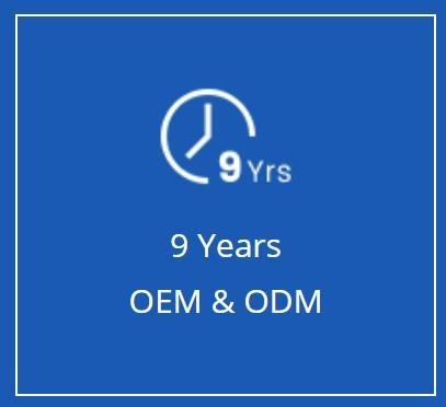 9 Years OEM ODM