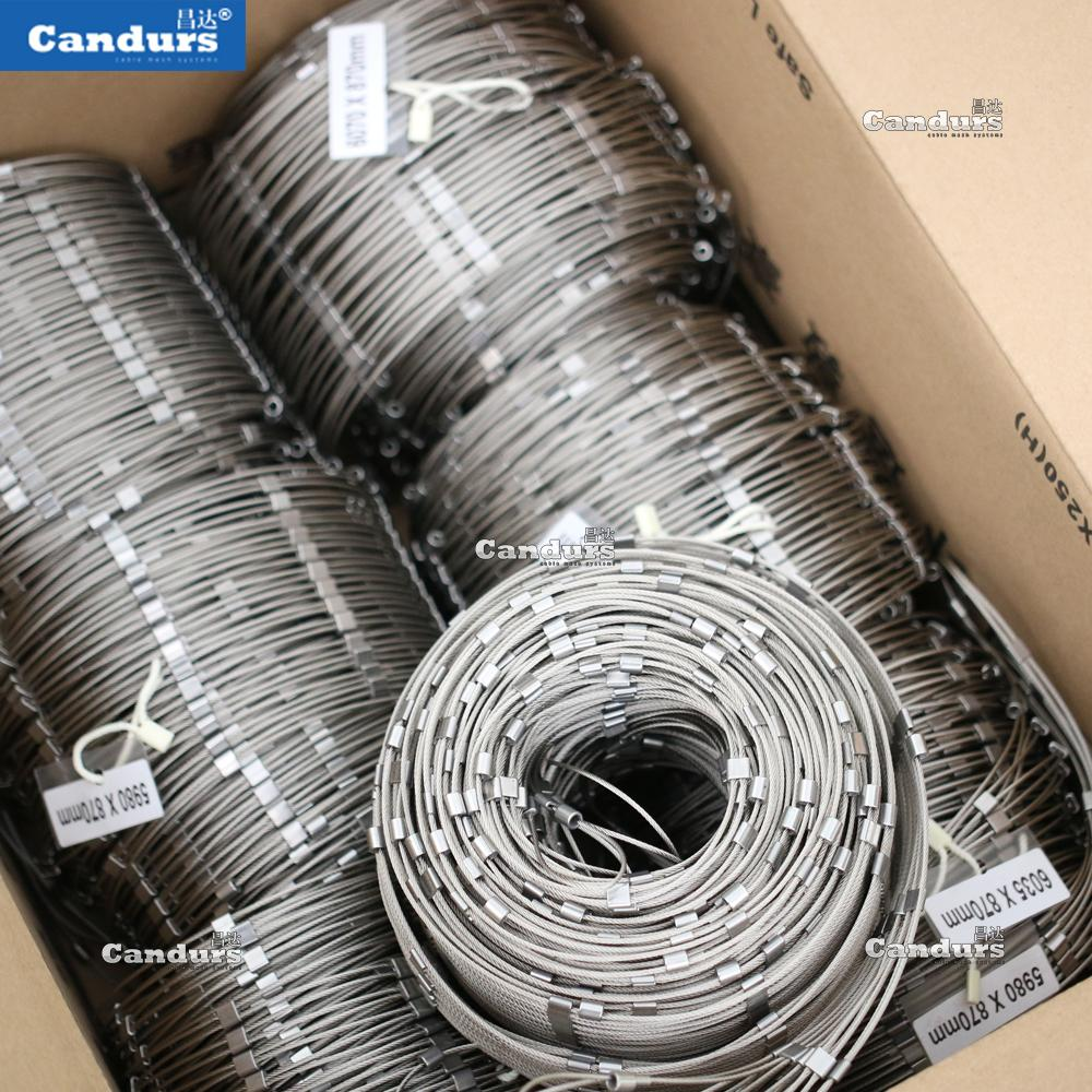 不鏽鋼絲繩卡扣網 7