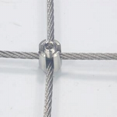 Cross Clamp For Wire Trellis