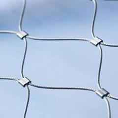 不锈钢钢套索网