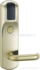 国际标准五锁舌锁体电子门锁