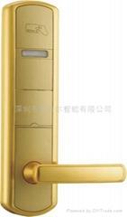 美國名師設計電子感應門鎖
