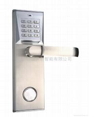 感應加密碼智能門鎖