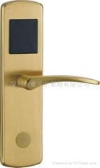 纯铜系列电子感应门锁