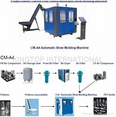 CM-A4 automatic bottle blowing machine