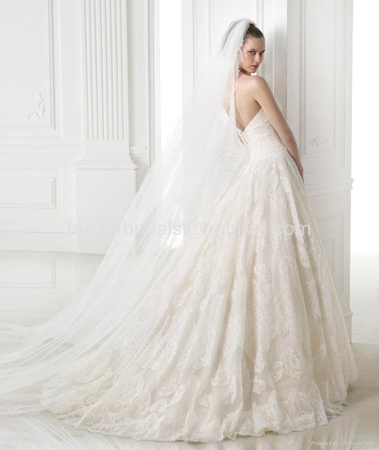 Lace Wedding Dresses 2017 Luxury Bridal Ball Gowns H14688 2