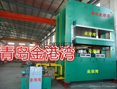 Large oil leaks seal vulcanization machine