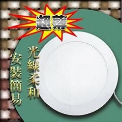 LED12W超薄崁燈(嵌燈)