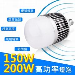 E40LED100W150W大功率球泡灯