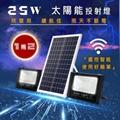 【遙控】25W太陽能LED1拖