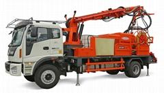 CSP30 truck mounted concrete sprayer