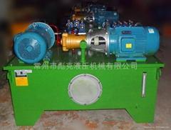 管桩顶升平移大型液压系统