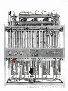 多效列管蒸餾水機 2