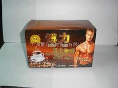 博力男士强身壮体咖啡粉