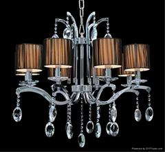 豪華蠟燭水晶吊燈