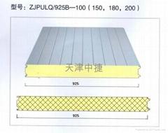 聚氨酯夾芯保溫板