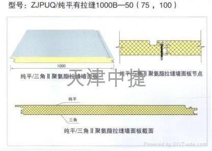 聚氨酯夹芯保温板 3