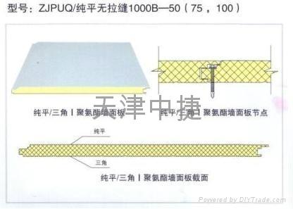 聚氨酯夹芯保温板 4