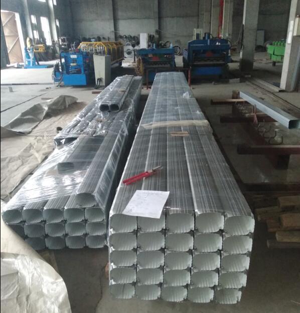 144*108彩钢雨水管彩铝雨水管合金雨水管 1