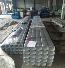 144*108彩钢雨水管彩铝雨水管合金雨水管