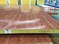 A級防火岩棉夾芯聚氨酯封邊彩鋼