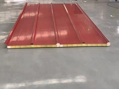 聚氨酯夾芯保溫屋面板