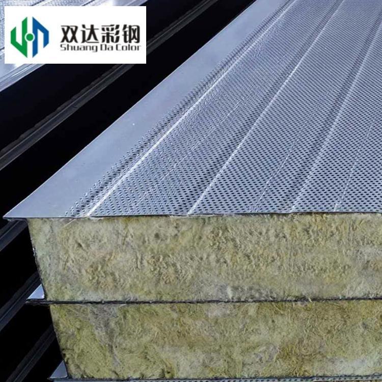 岩棉夾芯牆面板  3