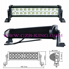 72W Super Bright LED Light Bar 13.50 Inch