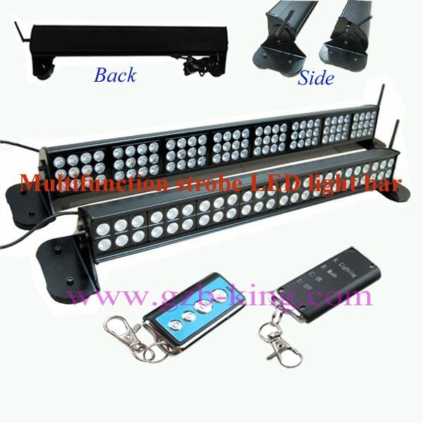 Multifunction Strobe LED Light Bar With Strong Magnet Without Drill Installation 1