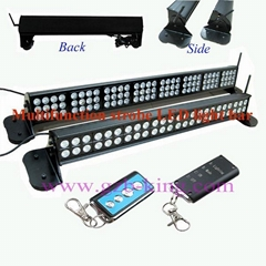 Multifunction Strobe LED Light Bar With Strong Magnet Without Drill Installation