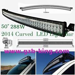"50"" Curved  LED Light Bar"
