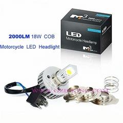 2000LM Motorcycle LED Headlight
