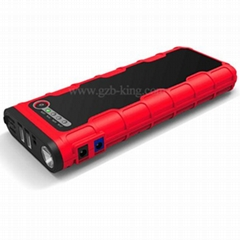 18000mAh Portable Red+Black Car Car Battery Jumper