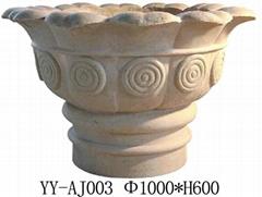 砂岩歐式花盆