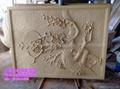 八仙过海砂岩浮雕壁画  3